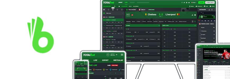 Aplikacja mobilna Totalbet