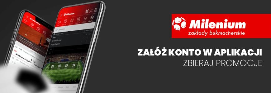 Aplikacja mobilna Milenium