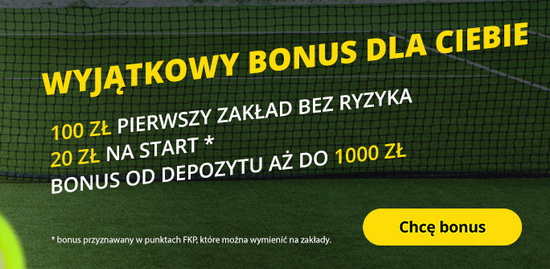 1000 zł + 100 zł + 20 zł – pakiet bonusów powitalnych w Fortunie!